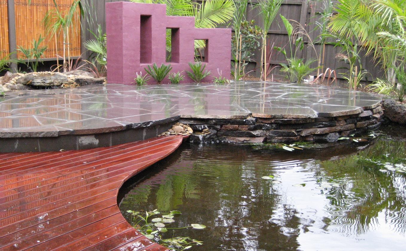 two gardens in one backyard membranes australia